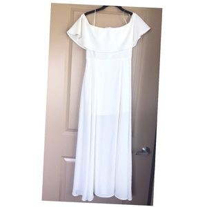 Altar'd state white maxi